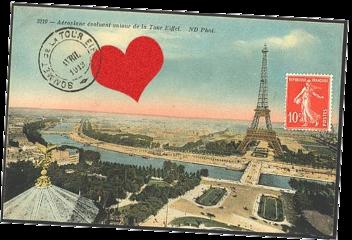 postcard cute love freetoedit