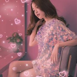 ariana arianagrande pink pinkaesthetic 7rings freetoedit