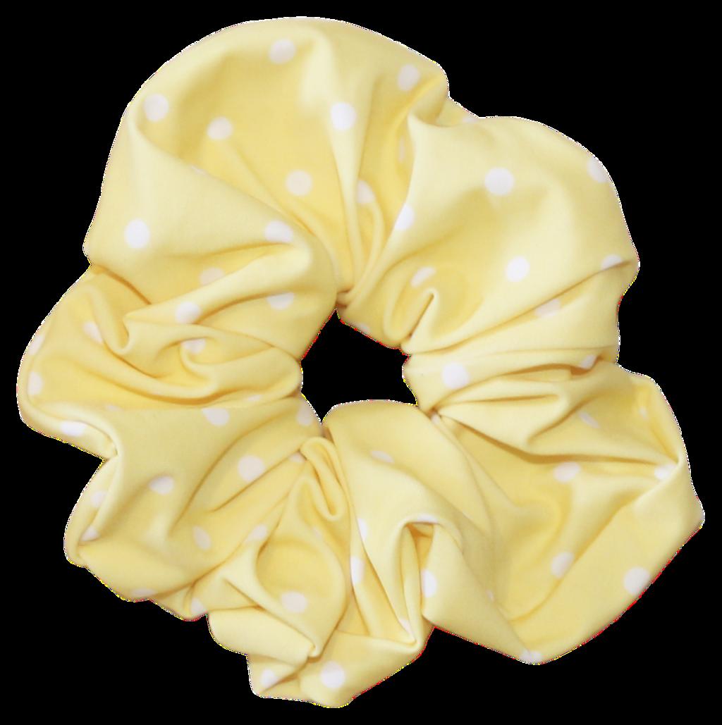 Scrunchie Png Yellow Pastel Aesthetic Tumblr Velvet Scr
