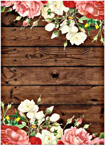 Floral Frame Background Flower