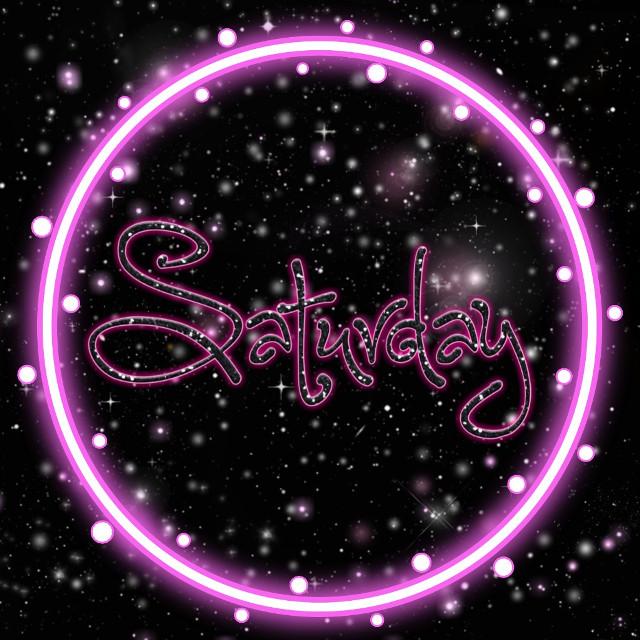 Happy Saturday ❤️  #freetoedit #happysaturday #saturday #quoteoftheday #neon #neonpink #pink #neoncircle #happyday