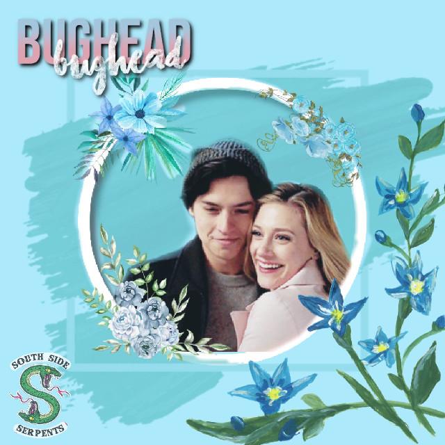 #freetoedit #riverdale #bughead #jughead #jugheadjones #betty #bettycooper #southsideserpents #flowers #riverdaleedit #blue #bluetheme