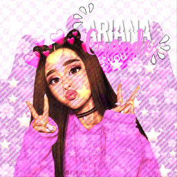 ariana grande freetoedit