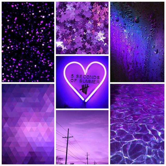 Apparently I now like making aesthetics #freetoedit #purpleaesthetic #purpleandblue #aesthetic #aestheticallypleasing #5sos #collage #aestheticedit