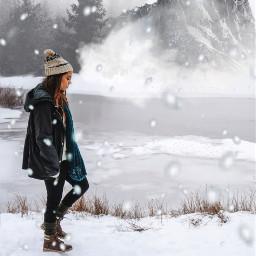 freetoedit snow winter montain snowfall ircwinterfeels