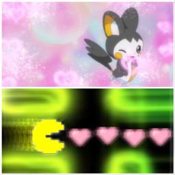 pacman pokemon emolga crossover freetoedit
