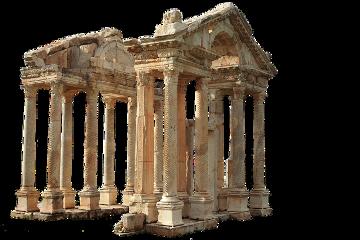 temple pillars ancientarchitecture ancient sticker