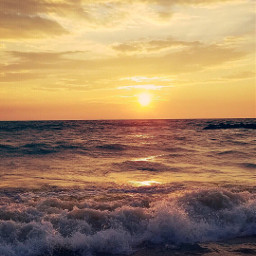 freetoedit nature beachscenery goldenhour sunrisethismorning