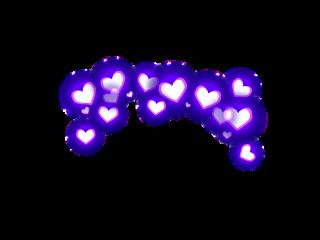 сердечки сердечкинадголовой любовь freetoedit