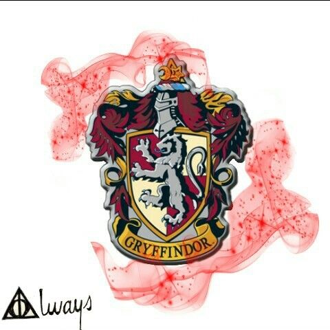 Instagram: @margo34277 #freetoedit #hogwarts #harrypotter #casas #gryffindor #red #magoc #magia #logo