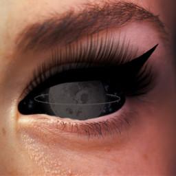 eye moon eyemoon aesthetic aestheticmoon freetoedit