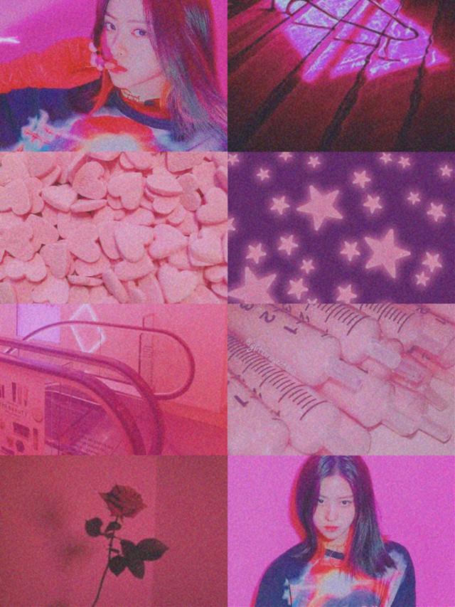 #itzy #jyp #ryujinshin #pink #aesthetic