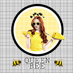 cheryl queenbee riverdale madelainepetsch yellow freetoedit