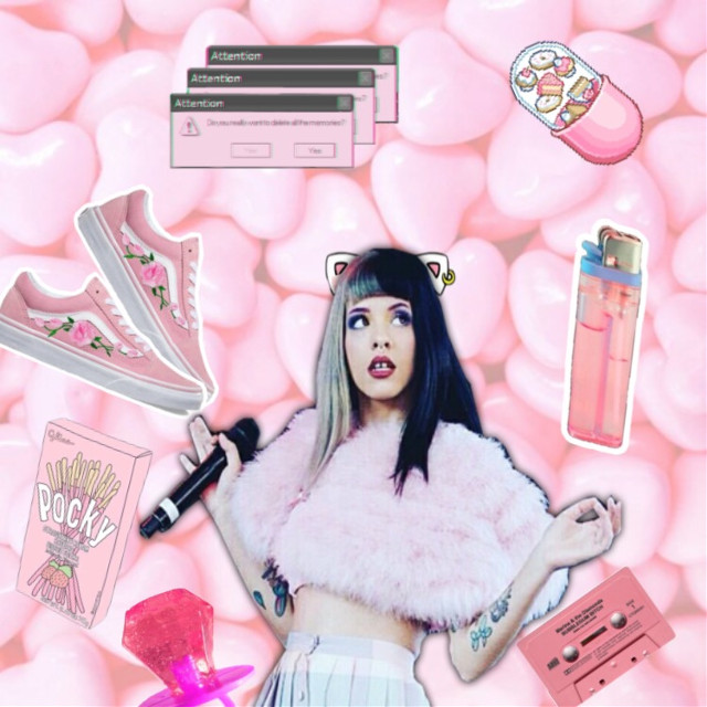 #freetoedit #melaniemartinez #kawaii #pop #pinkaesthetic #cats #love #crybaby #excited for melanies second album #sister melanie