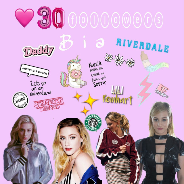 #freetoedit #iloveyou #lilireinhart #bia_reinhart #star_biah Thank you very much to all of you, my stars keep shining⭐💓