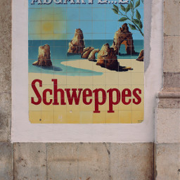 freetoedit pcwalls oldwall advertising ad schweppes