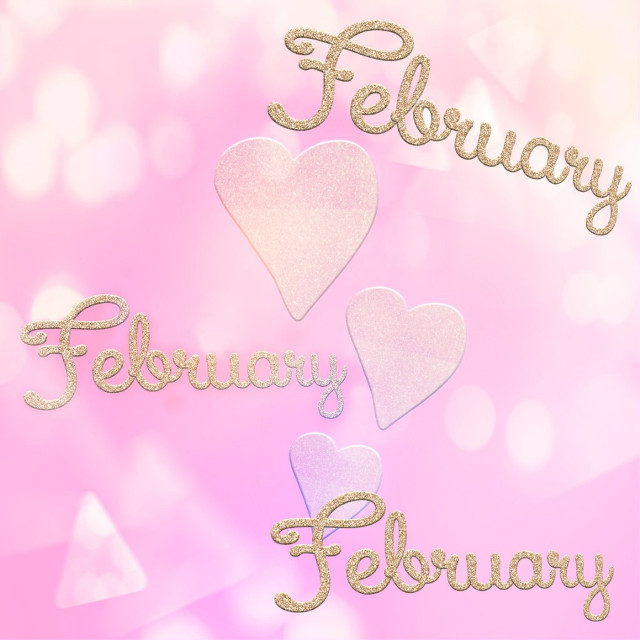 Happy start of the month ❤️ May February bring a lot of love for you 😍. Good vibes and many blessings for you ❤️  #freetoedit #february #month #background #hearts #love #friday #fridaymood