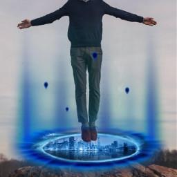 freetoedit portal lensflare levitate