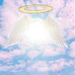 freetoedit angelwings angel sky srcpolarvortex
