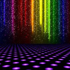 stage dance dancing lightning light