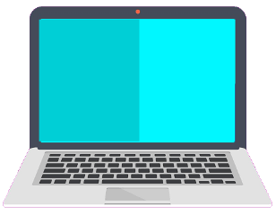 notebook flatdesign computer freetoedit