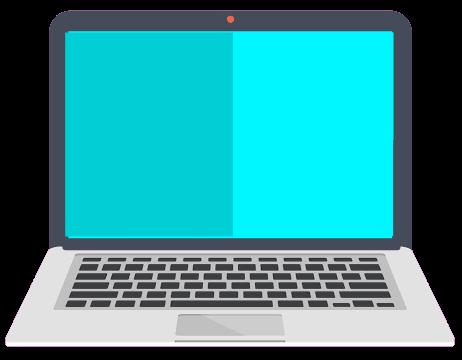 #notebook #flatdesign #computer