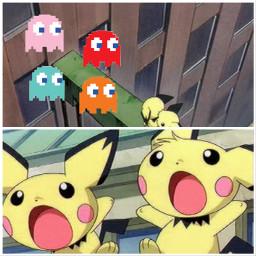 pacman pokemon pichu pichubros crossover freetoedit