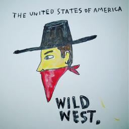 freetoedit cowboy bandana hat cowboys