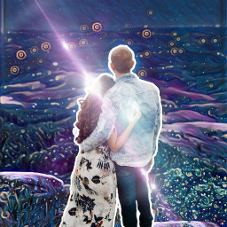 freetoedit edit midnightfilter magic love