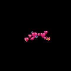 heart emoji emojiheart hart corwn freetoedit