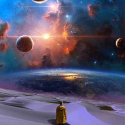 freetoedit galaxy deserted deserto lonely