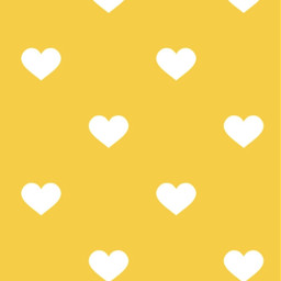 valentines yellow background wallpaper hearts