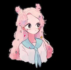anime girl animegirl аниме анимедевушка freetoedit