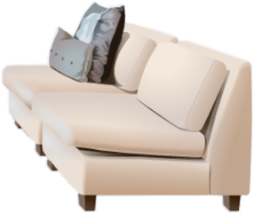 winter twoseat sofa winterpeakcollection decoration