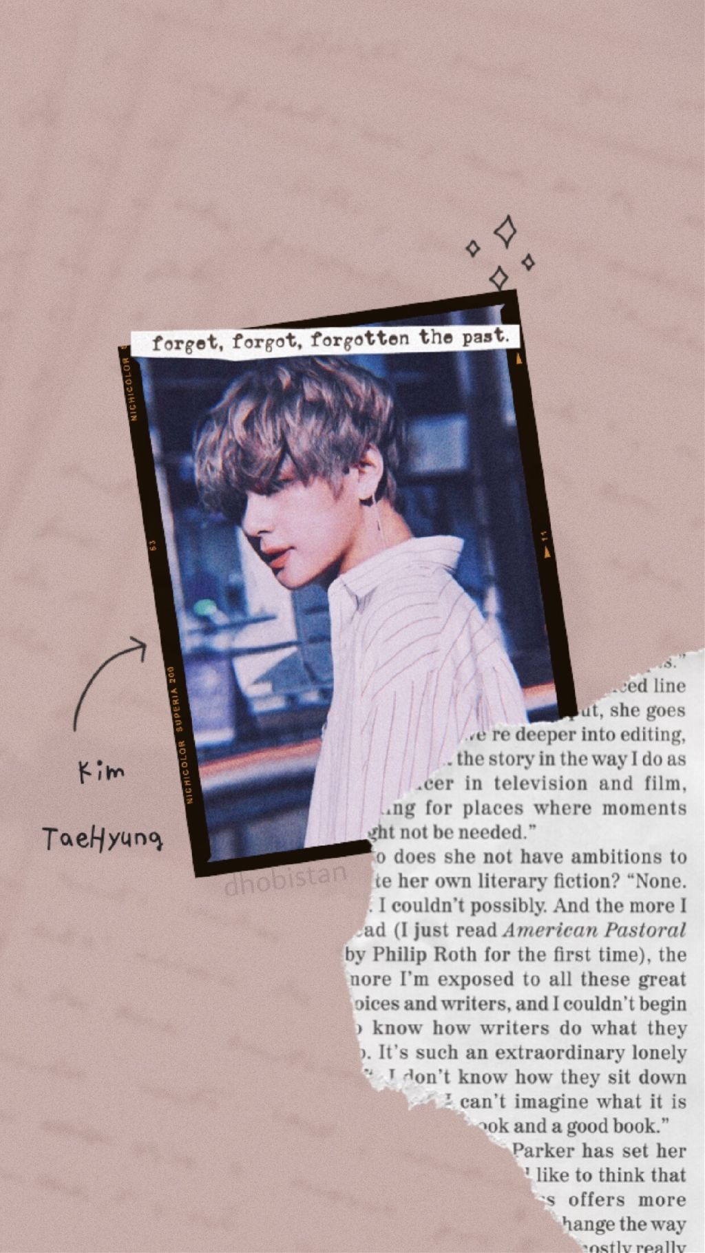 Taehyung Wallpaper Aesthetic Tumblr Vintage Bts Vbts
