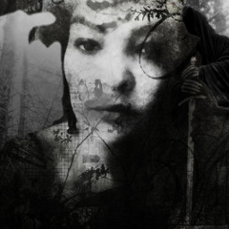 remixed darkart_saturday emotions gothic grunge