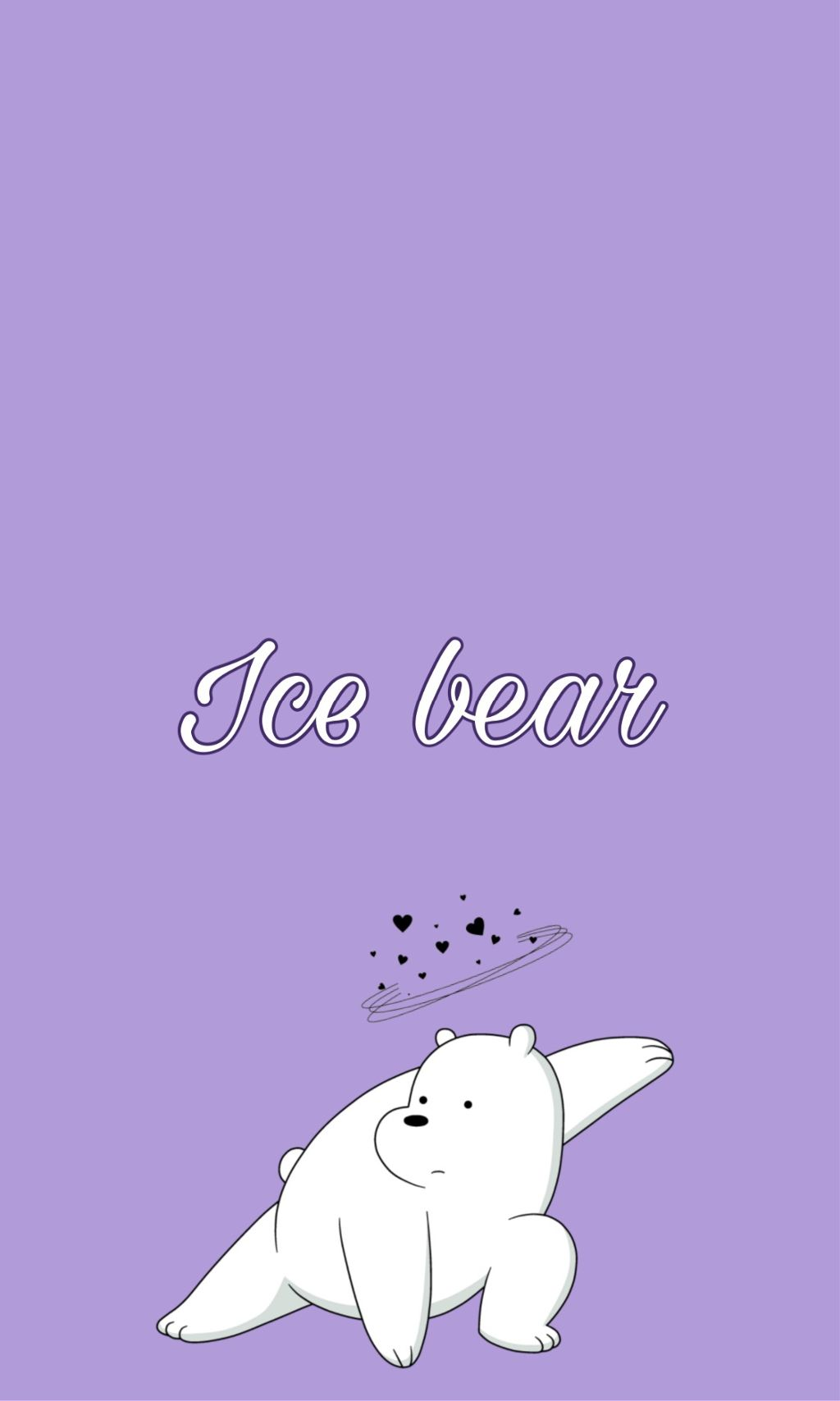 We Bare Bears Ice Bear Iphone Wallpaper Webearbear