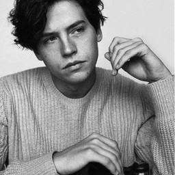 colesprouse jug riverdale handsome thinking freetoedit