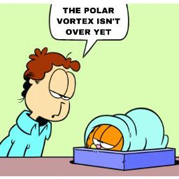 garfield polarvortex meme comic