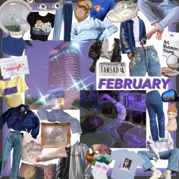 freetoedit february purpleaesthetic aesthetic moodboard