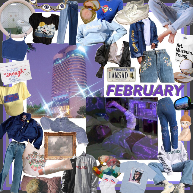 #freetoedit #february #purpleaesthetic #aesthetic #moodboard