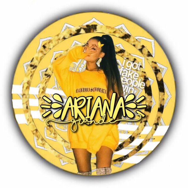 Ariana grande yellow icon 💛💛 If u wanna use this pls comment or give me the creds  #arianagrande #icon #yellow