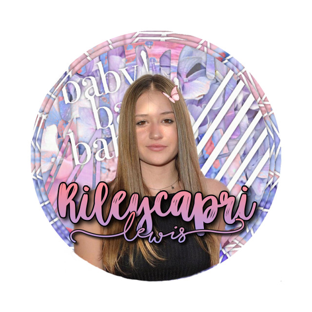 Riley lewis pink & purple icon  💗💜 Free for anyone to use but give me the creds if u do  #rileylewis #riley #capri #lewis #pink #purple #icon #freetoedit