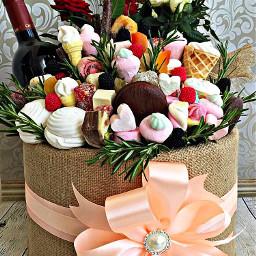 freetoedit basket gift ribbon bow