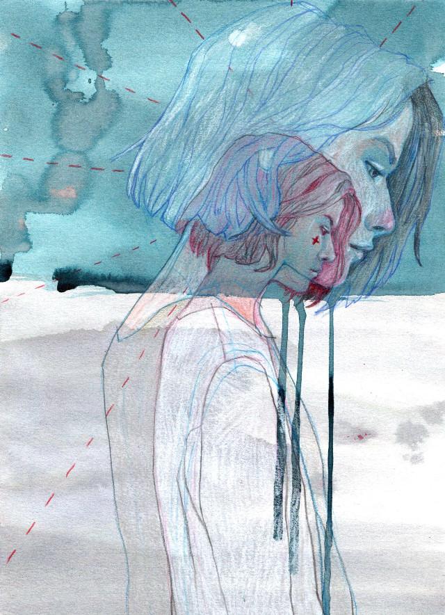 #drawing #watercolor #art #coloredpencils