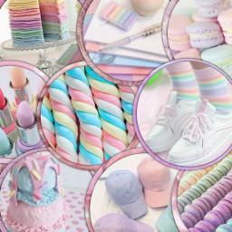 freetoedit rainbow pastelrainbow rainbowpastel superimpose
