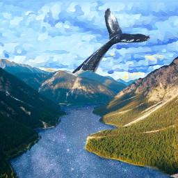 freetoedit landscape paisaje lake lago