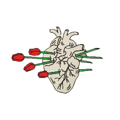 heart roses aesthetic tumblr png freetoedit