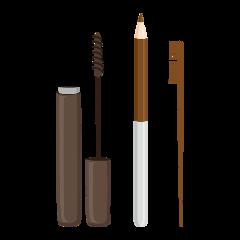 makeup set brown freetoedit