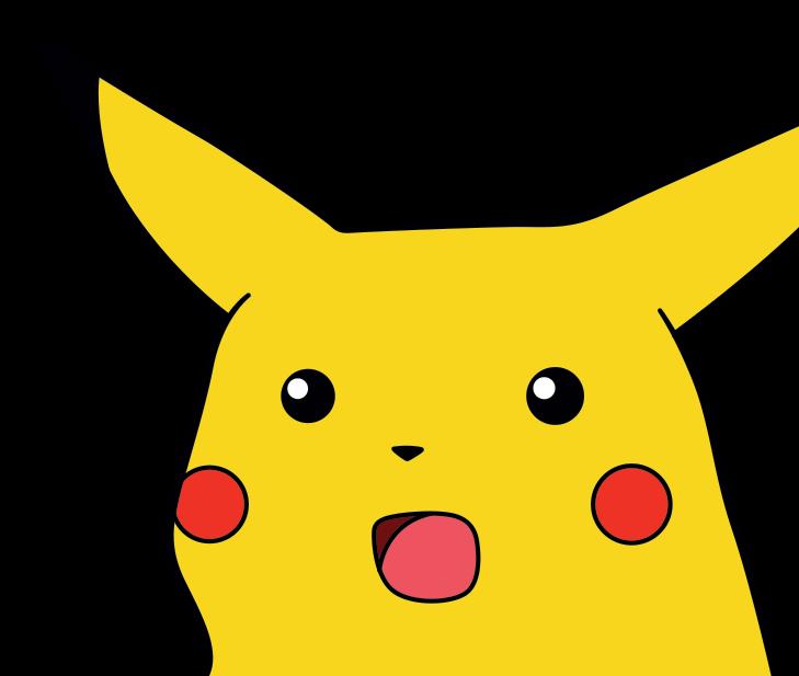 Pikachu Images: Surprised Pikachu Face Text Art